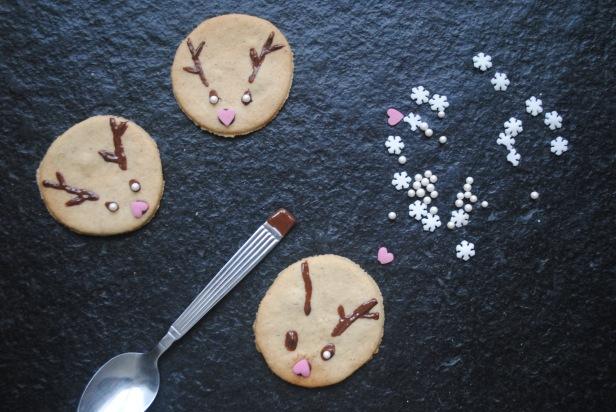 biscuits de Noël golden avocado